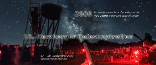 Auf zum 10. Herzberger Teleskoptreffen